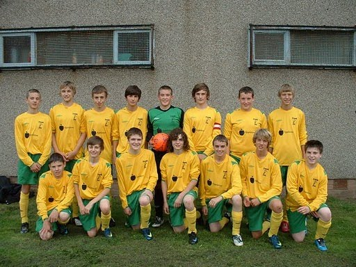 St Monans Spurs squad season 2009/10