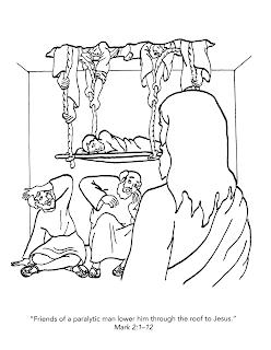 Jesús sana a un paralítico de su pecado y de su enfermedad