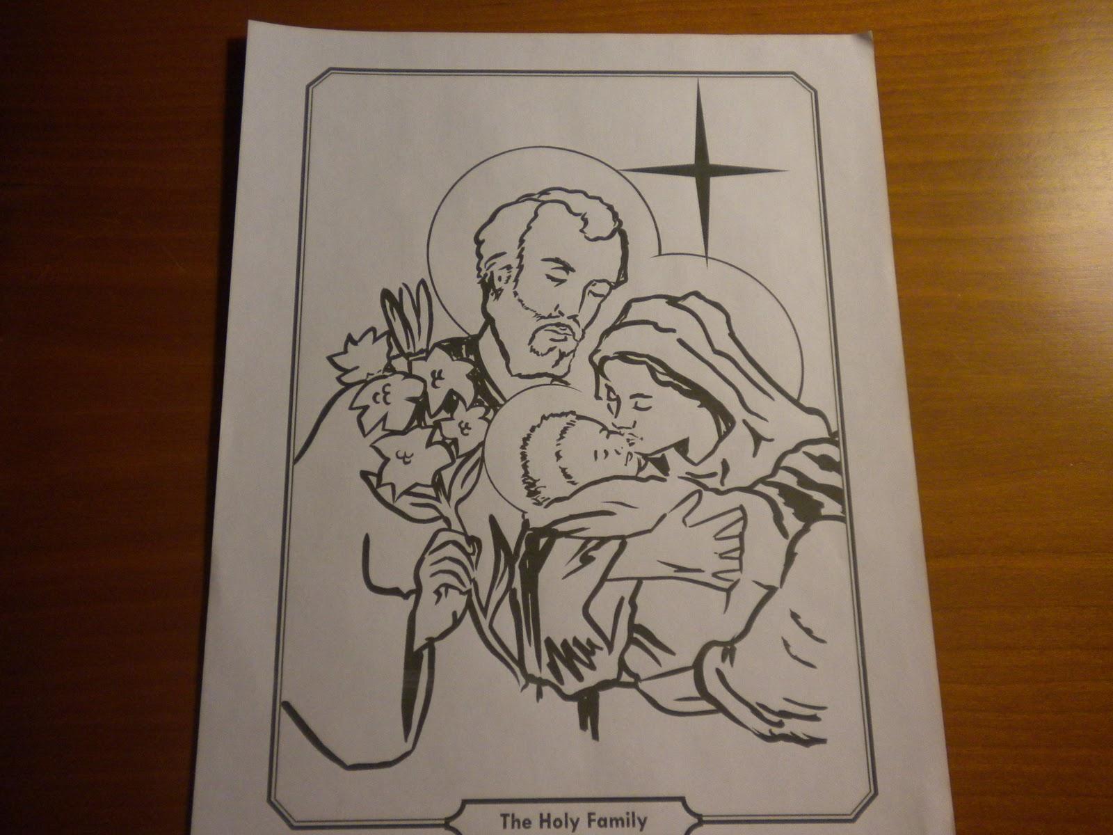 Familia Católica: Páginas para Colorear de Santos de Relevant Radio