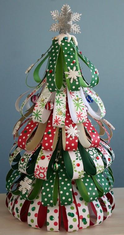 Familia Católica: Ideas para hacer Árboles de Navidad