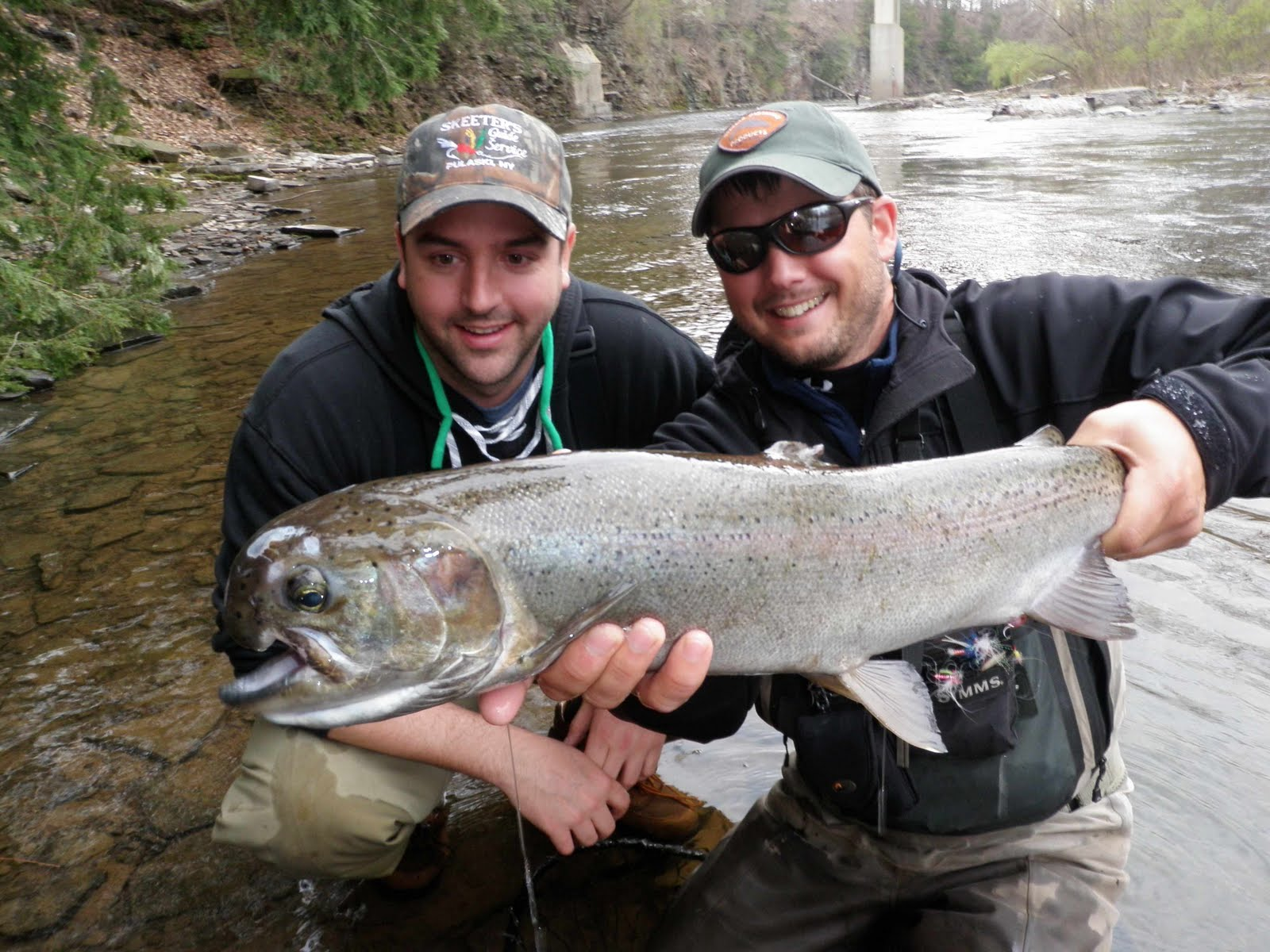 Salmon country guide april 15th steelhead fishing on the for Bead fishing for steelhead