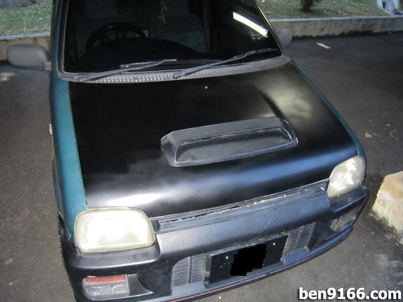 project kancil diy re paint kancil front bonnet car enthusiast car. Black Bedroom Furniture Sets. Home Design Ideas