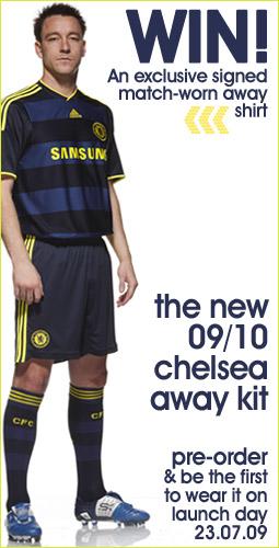 the new chelsea away kit