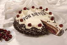 pastel de bosque