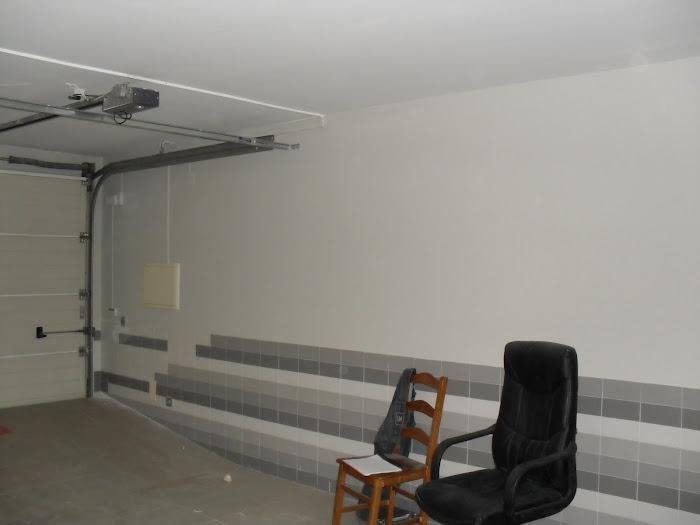 pintura de garagem