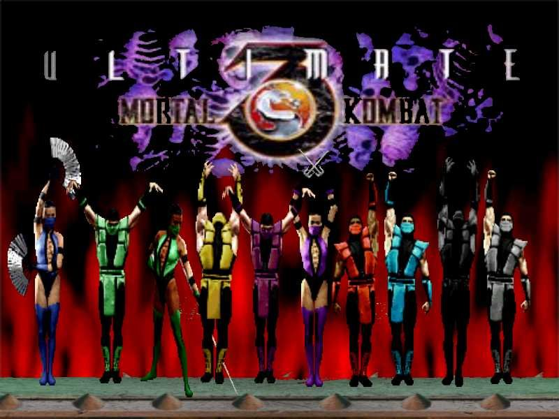 Ultimate Mortal Kombat 3  Ganha Vers  O Para Port  Teis Da Apple
