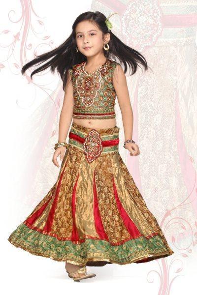 Ethnic World Exclusive Designer Wear Kids Dresses