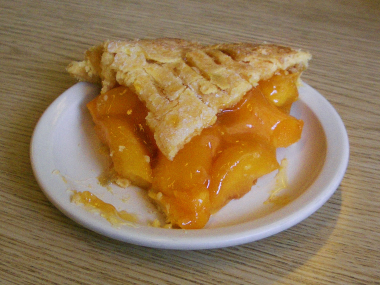 Right Here...Right Now: Peach Pie