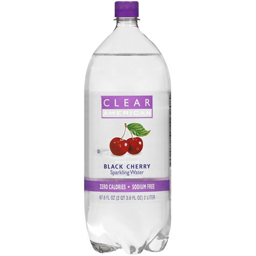 Clear American Black Cherry Naturally Flavored Sparkling Water