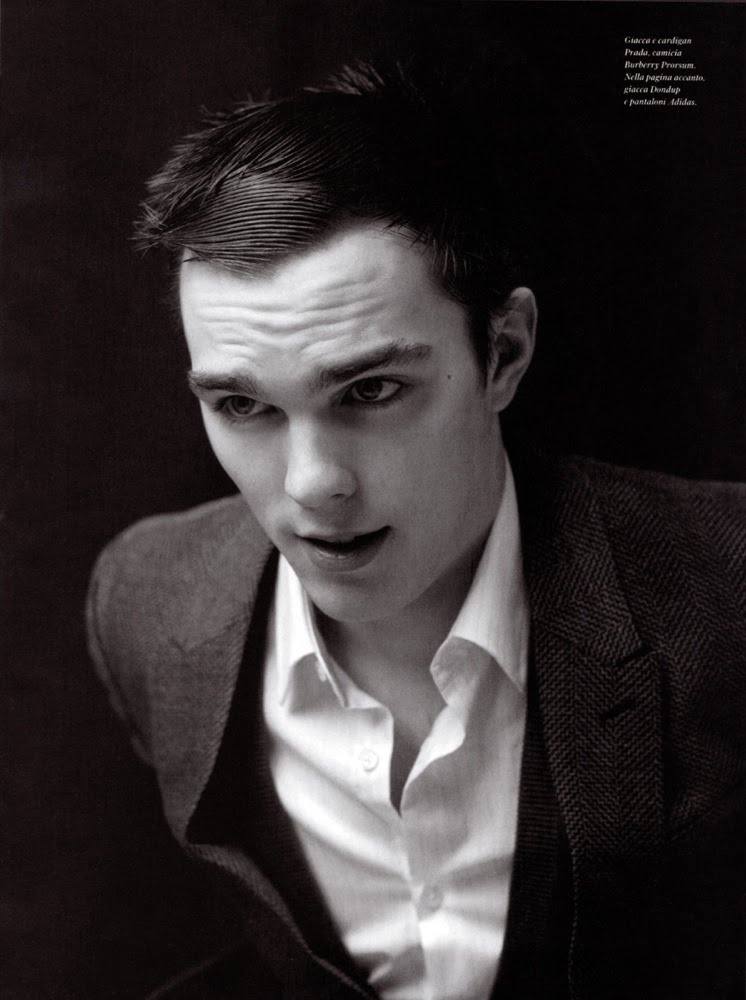 nicholas hoult for gq style italy spring 2010