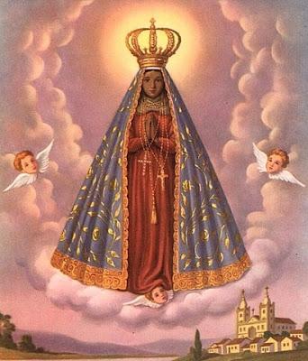 Nossa Senhora Aparecida Na Umbanda Céu com Anjinhos