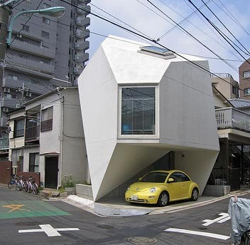 Peppermags architecture reflection of mineral house for Small japanese house design in tokyo by architect yasuhiro yamashita