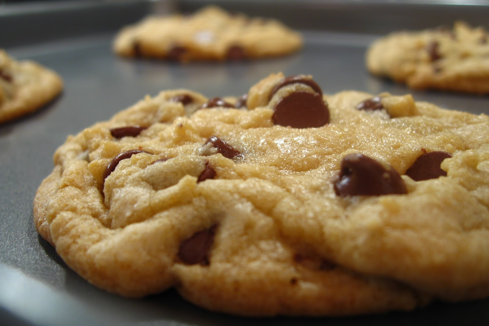 The Best Big Soft Chocolate Chip Cookies Ever
