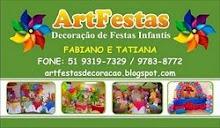 ArtFestas Decoração Infantil