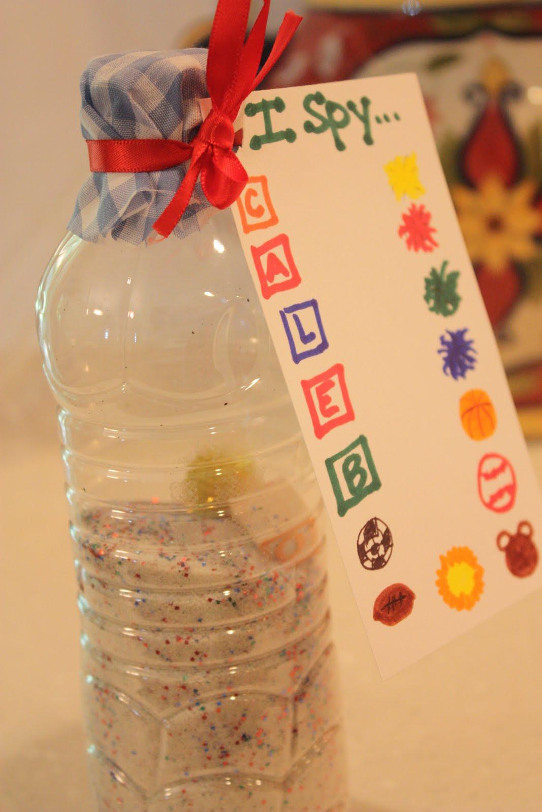 Frugal crafts for kids i spy in a bottle for Spy crafts for kids