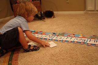 Alphabet Train Game