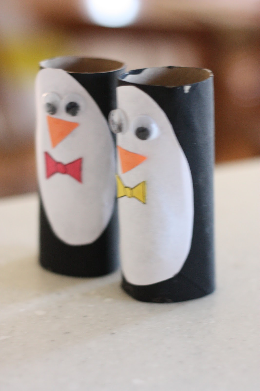 penguin puppets i can teach my child