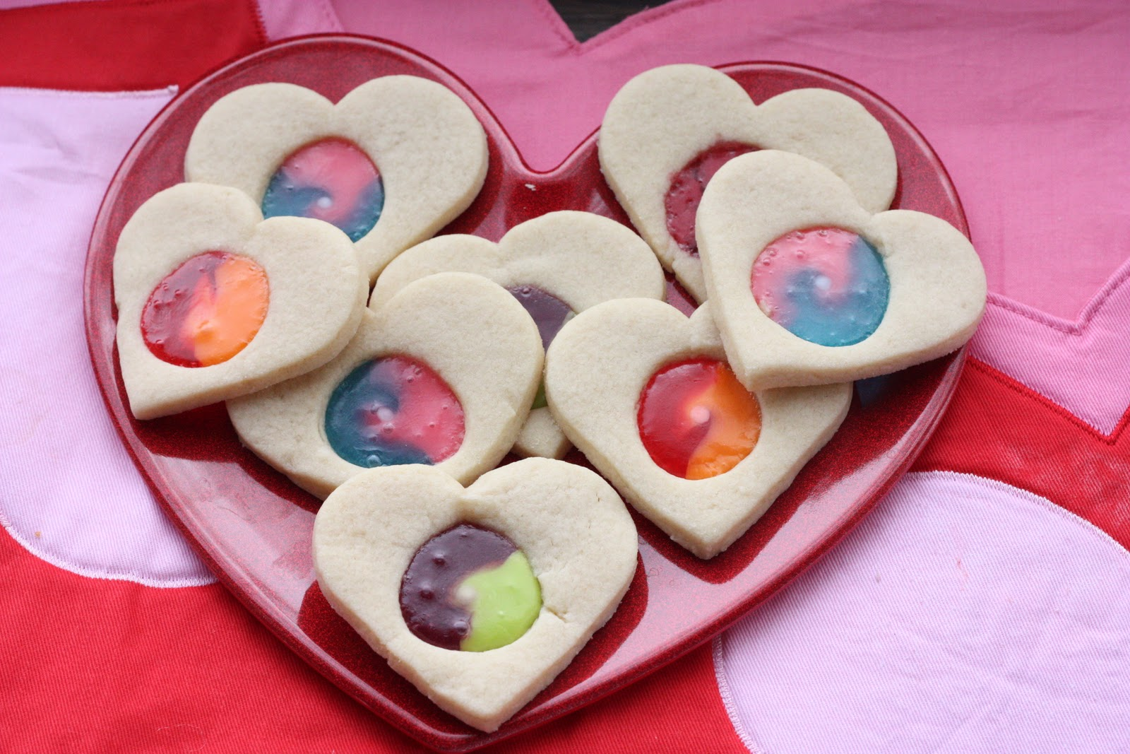 Stained Glass Valentine Cookies I Can Teach My Child