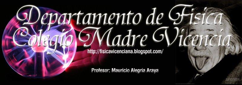 Departamento de Física Colegio Madre Vicencia