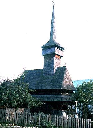 """biserica """"Sfinţii Arhangheli"""" din Borşa MM"""
