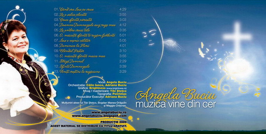 Dacă doriţi să descărcaţi arhiva mp3 cu noul album: Muzica vine din cer, click pe foto!