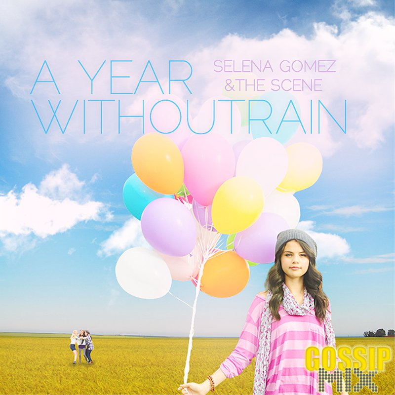 Selena Gomez 'A Year Without Rain' OFFICIAL CD COVER
