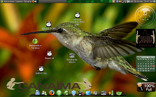 canaima colibrí GNU/Linux_wallpaper
