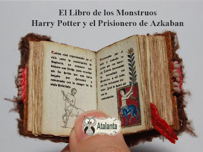minibook Harry Potter - Monster Book