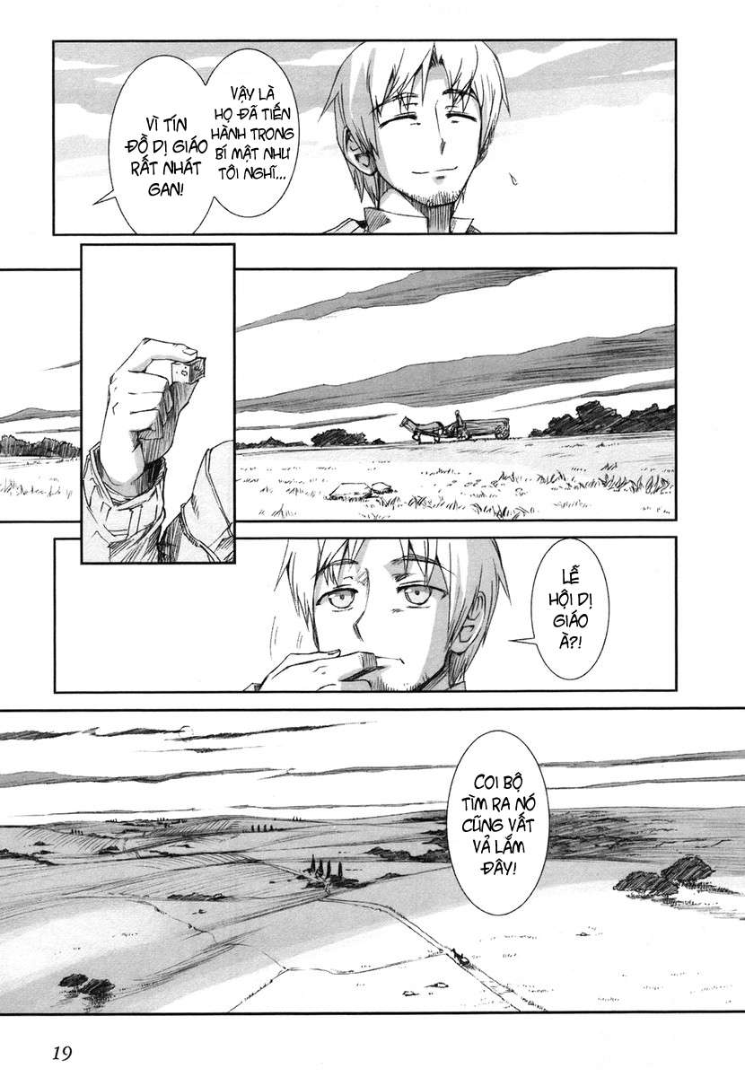 Ookami to Koushinryou (Wolf and Spice) - Ookami to Koushinryou (Wolf and Spice) Chapter 001 - Pic 23