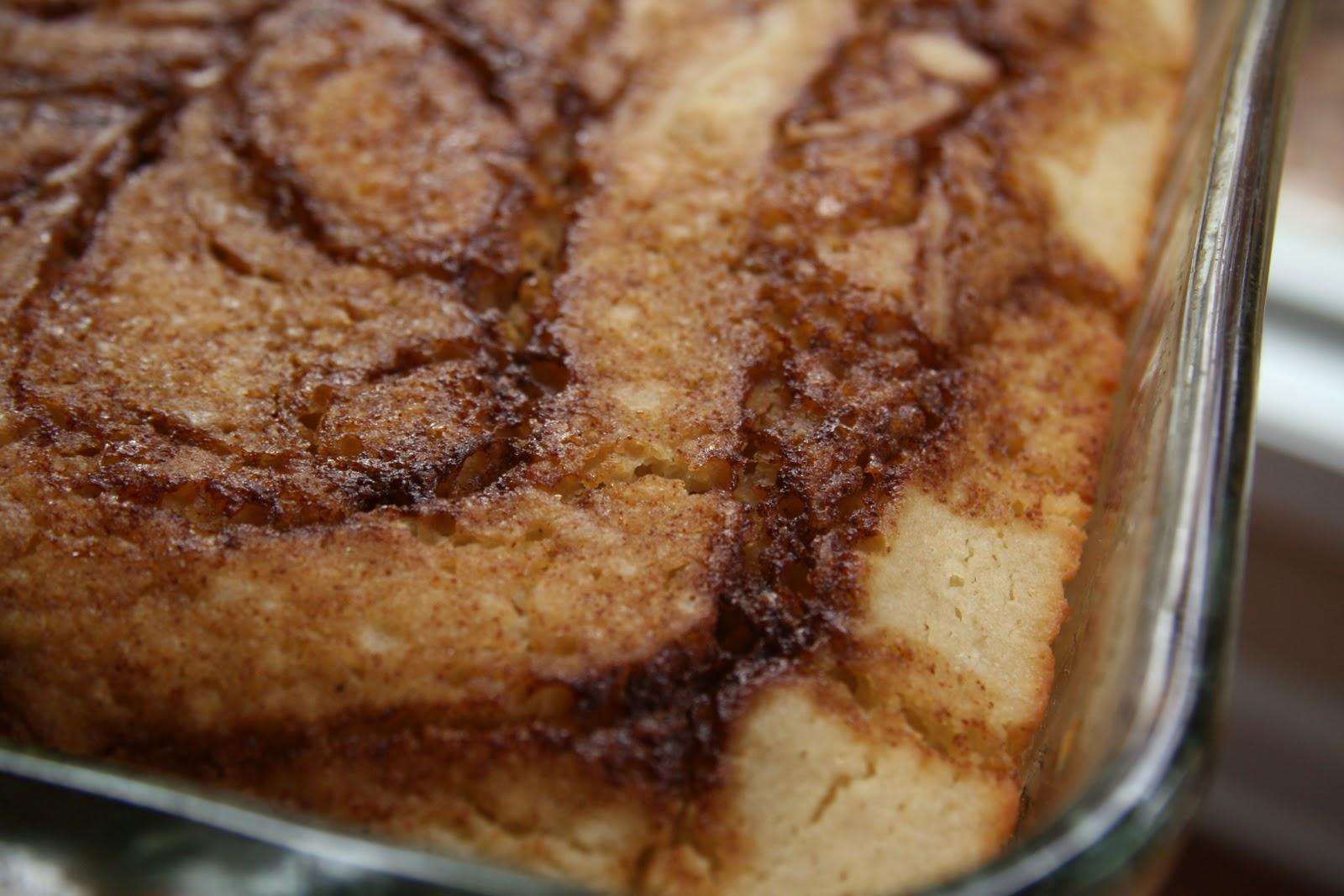 Cinnamon Bun Bread (Gluten Free/Dairy Free/Egg Free)