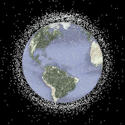 nasa space debris pics about space