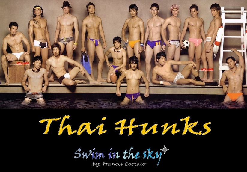 Thailand guys and hunks