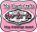 My Sheri Crafts Challenge Award