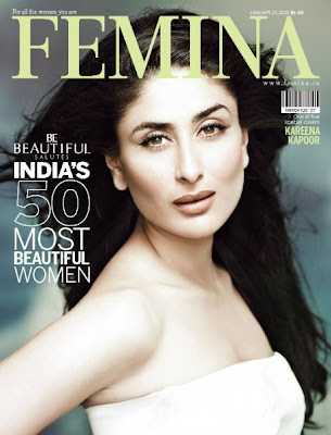Kareena Kapoor – Femina Magazine (January 2010)