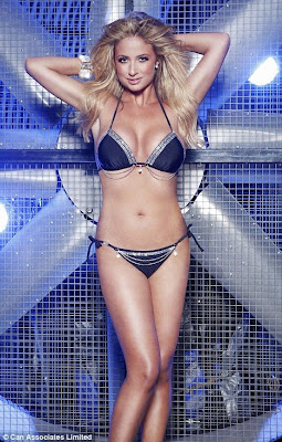 Chantelle Houghton Sparkling Hot Bikini Photo Shoot