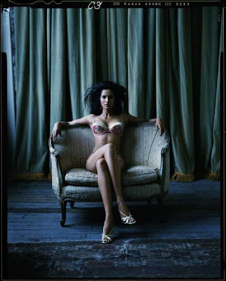 Padma Lakshmi Hot in Lingerie
