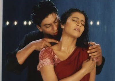Kajol in hot n wet sari