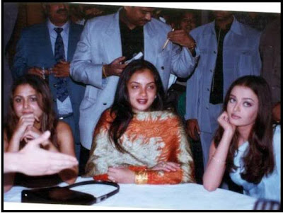 Amrita Arora and Ash