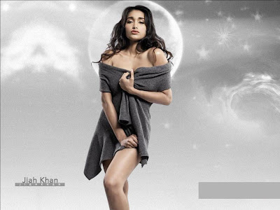Jiah Khan Looking Hot & Sexy In Sedactive Photoshoot
