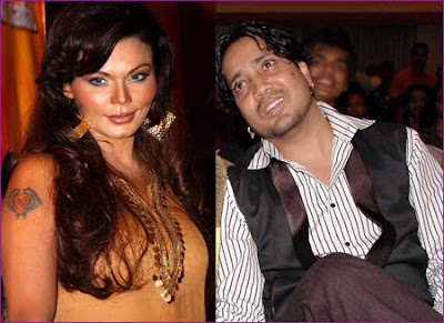 Rakhi Sawant and Mika kiss