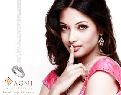 Riya Sen Looks Hot In Latest Photoshoot for Agni Jewelry