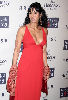 Padma Lakshmi at 6th Annual Keep a Child Alive Black Ball