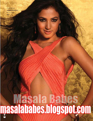 Sonal Chauhan Hot Photoshoot For The Man Magazine Oct'09