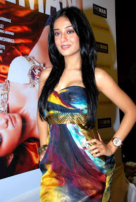 Amrita Rao at the Cover Launch of 'The Man' Magazine
