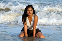 Kamalini Mukherjee Hot and Wild on Beach