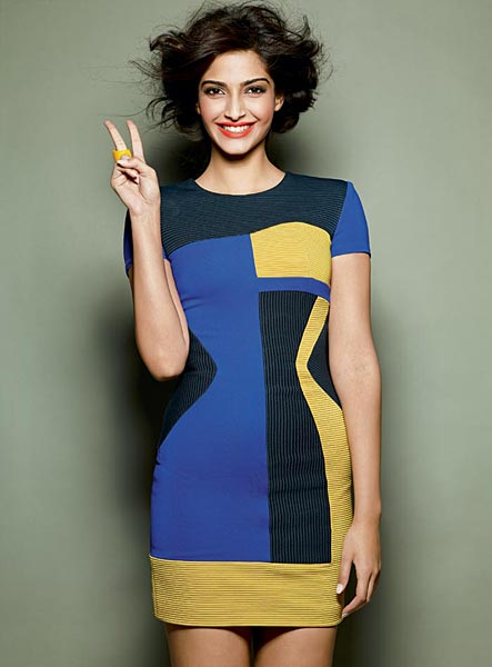Sonam Kapoor Photoshoot For Cosmopolitan Magazine