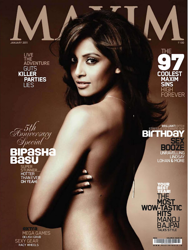 Bipasha Basu Photoshoot For Maxim India (January 2011)