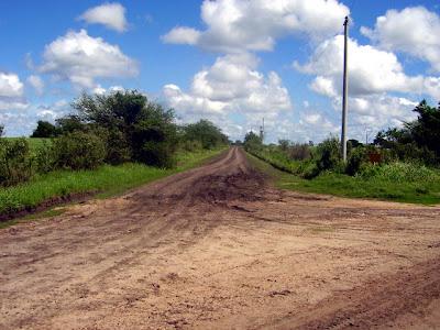 El camino de entrada al Raigón