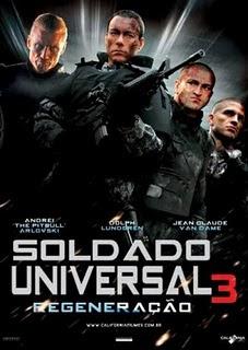 Filme Poster Soldado Universal 3 - Regeneração DVDRip RMVB Dublado