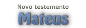 Estudo: Mateus MundoCristão